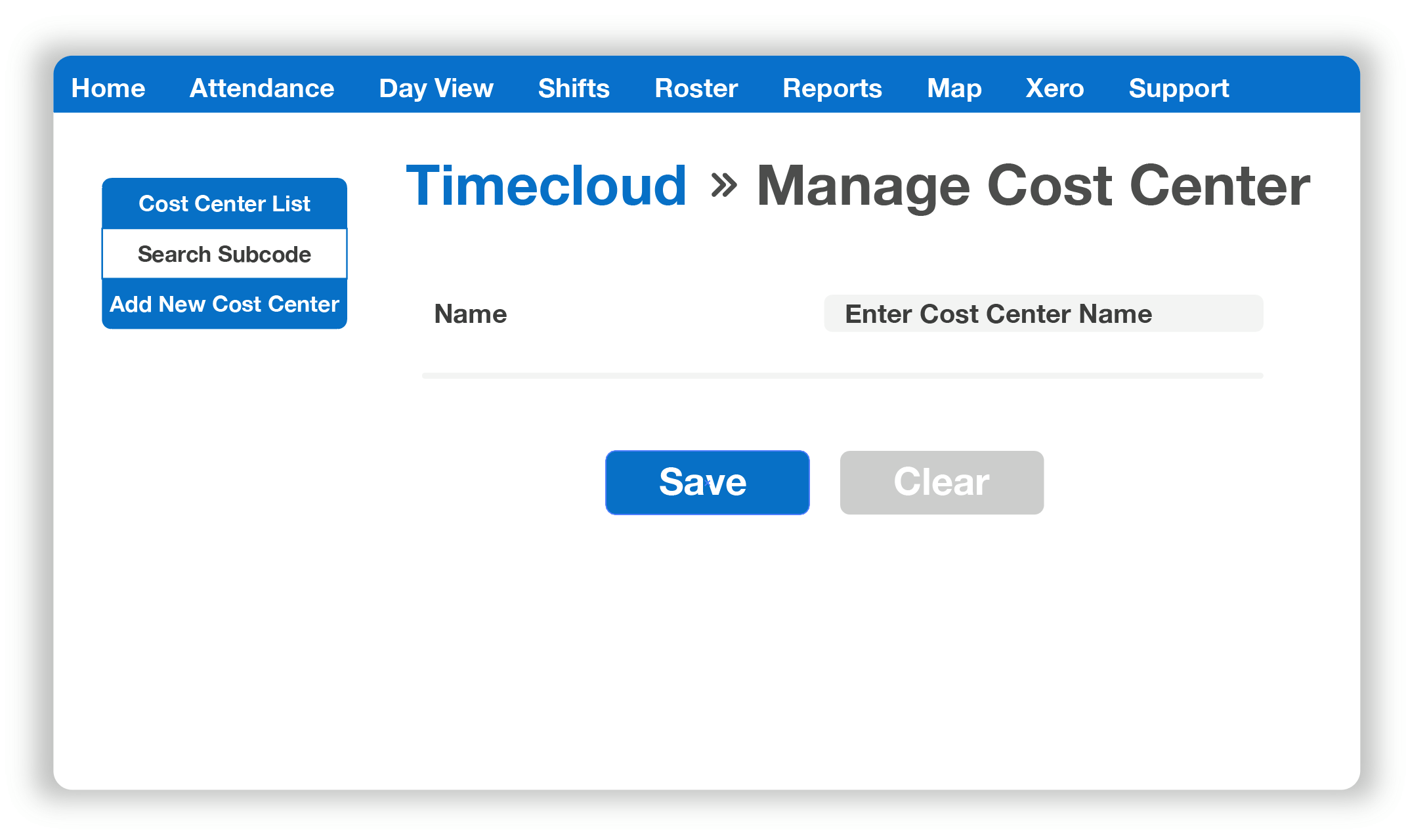 Timecloud Time and Attendance, Job Costing