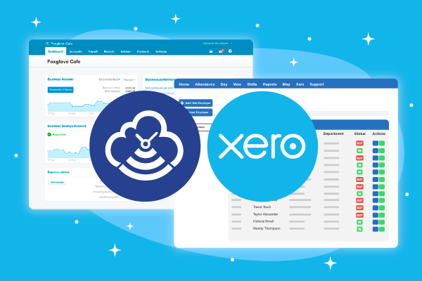 Timecloud plus Xero connected app featured image