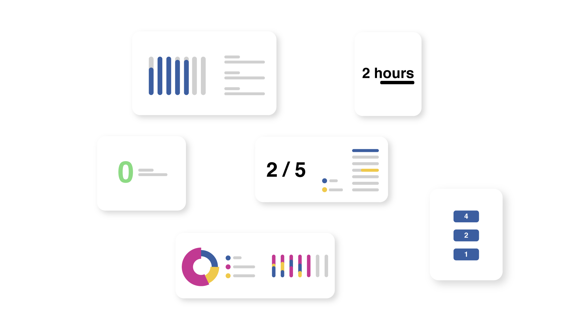 Timecloud Productivity Report Disjointed Widgets