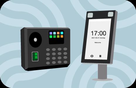 biometric timeclocks graphic
